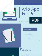 Arlo Appv For PC