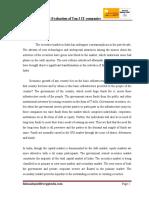 aprojectreportonequityevaluationoftop3itcompaniesatstockexchange-120808224509-phpapp02-converted.docx