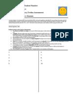 Major Exam Format 4-14-2019
