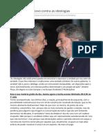 Paulo Cruz. Eleições 2018 - o povo contra as ideologias