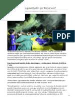 Paulo Cruz. O que esperar dos governados por Bolsonaro¿