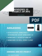 windows 10 project op apg