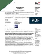 Certificato Omolgazione Assetto Golf