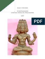 Hecker M. F., Schopenhauer und die indische Philosophie