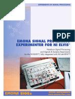 Emona SIGEx for NI ELVIS