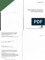 Andrea Oppo_Philosophical Aesthetics and Samuel Beckett_2008