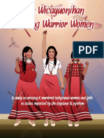 Mancamps Report Zuya Winyan Wicayuonihan-honoring Warrior Women