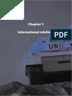 Chapter 1 - International Relations