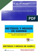 SEMANA 8 MÉTODOS Y MEDIOS DE GUERRA