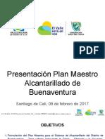 PRESENTACION PLAN MAESTRO DE ALCANTARILLADO