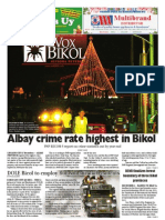 Vox Bikol Vol. 28 Issue No. 29