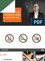Habilidades de Liderazgo Del Auditor SIG