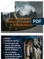 Guías Geológicas en Prospección Minera