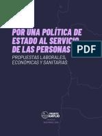 Frente Amplio - Por una política de Estado al servicio de las personas