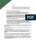 Apex clarifications  reg STP