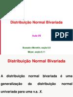 Aula 09 - Normal Bivariada