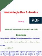 Aula 36 - ST III - Metodologia Box and Jenkins