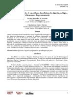 APRENDENDO ENSINANDO - A EXPERIÊNCIA DAS OFICINAS DE ALGORITMOS, LÓGICA E LINGUAGENS DE PROGRAMAÇÃO.pdf