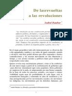 DE LAS REVUELTAS A LAS REVOLUCIONES. ISABEL RAUBER.pdf