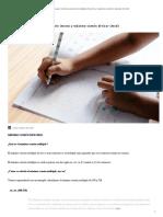 Cómo Calcular Mínimo Común Múltiplo (Mcm) y Máximo Común Divisor (Mcd) - RUBIO