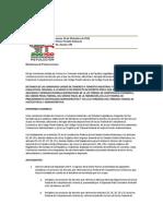 Dictamen Senado - LFCE 101202