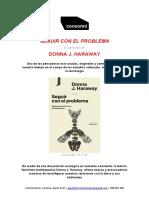 Seguir con el Problema_Donna Haraway