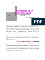 Contornos de la homosexualidad. Claudia Giraldo (2004)