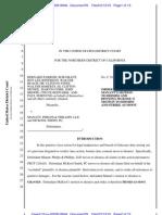 Order Granting Motion to Dismiss Parrish v Manatt Phelps