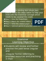 Regular and Irregular Verbs PPT (2)