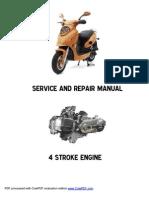 yamaha aerox 100 yq100 service repair workshop manual 2000 2004