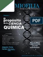 Revista QuimioFilia-El proposito de la Ciencia Química-Número 1 2a Edicion-Julio 2018.pdf