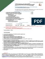 Anunt inscrieri NIVEL II CPU 2020
