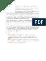Catalogos de Mantenimiento SAP