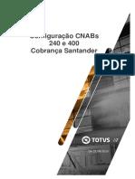Manual de configuração - CNAB 240 e 400 - Santander - Cobrança.pdf