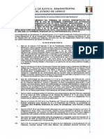 Tribunal de Justicia Administrativa del Edomex suspende actividades por coronavirus