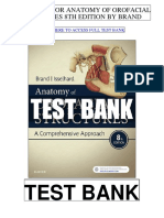 Anatomy Orofacial Structures 8th Brand Test Bank