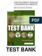 Anatomical Basis Dentistry 4th Liebgott Test Bank