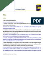 atividades caderno SOCIOLOGIA-GabaritoCad.1