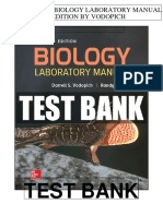 Biology Laboratory Manual 12th Vodopich Test Bank