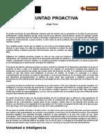 Voluntad Proactiva - Jorge Yarce