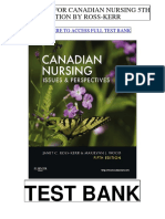 Canadian Nursing 5th Ross Kerr Test Bank