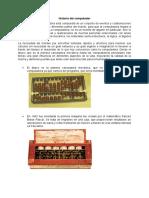 HISTORIA DE LA COMPUTADORA por Jennifer V