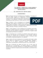 ORDENANZA PARA EL CONTROL Y MANEJO DE LA FAUNA URBANA Y LA PROTECCIÓN DE ANIMALES DOMÉSTICOS DE COMPAÑÍA DEL CANTON CUENCA
