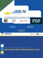 M1. Lanzamiento e Introducción al WAIS-IV