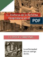 Historia de la Reforma hospitalaria en el Peru