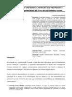 Formação Em Comunicação Popular_disputar a Hegemonia Cultural Através e Potencializar as Lutas_Leonardo Koury Martins