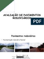 Avaliação de pavimentos rodoviários