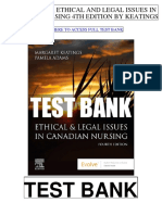 Ethical Legal Issues Canadian Nursing 4th Keatings Test Bank