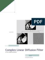 Complex Diffusion Filter