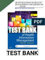 Foundations Health Information Management 4th Davis Test Bank